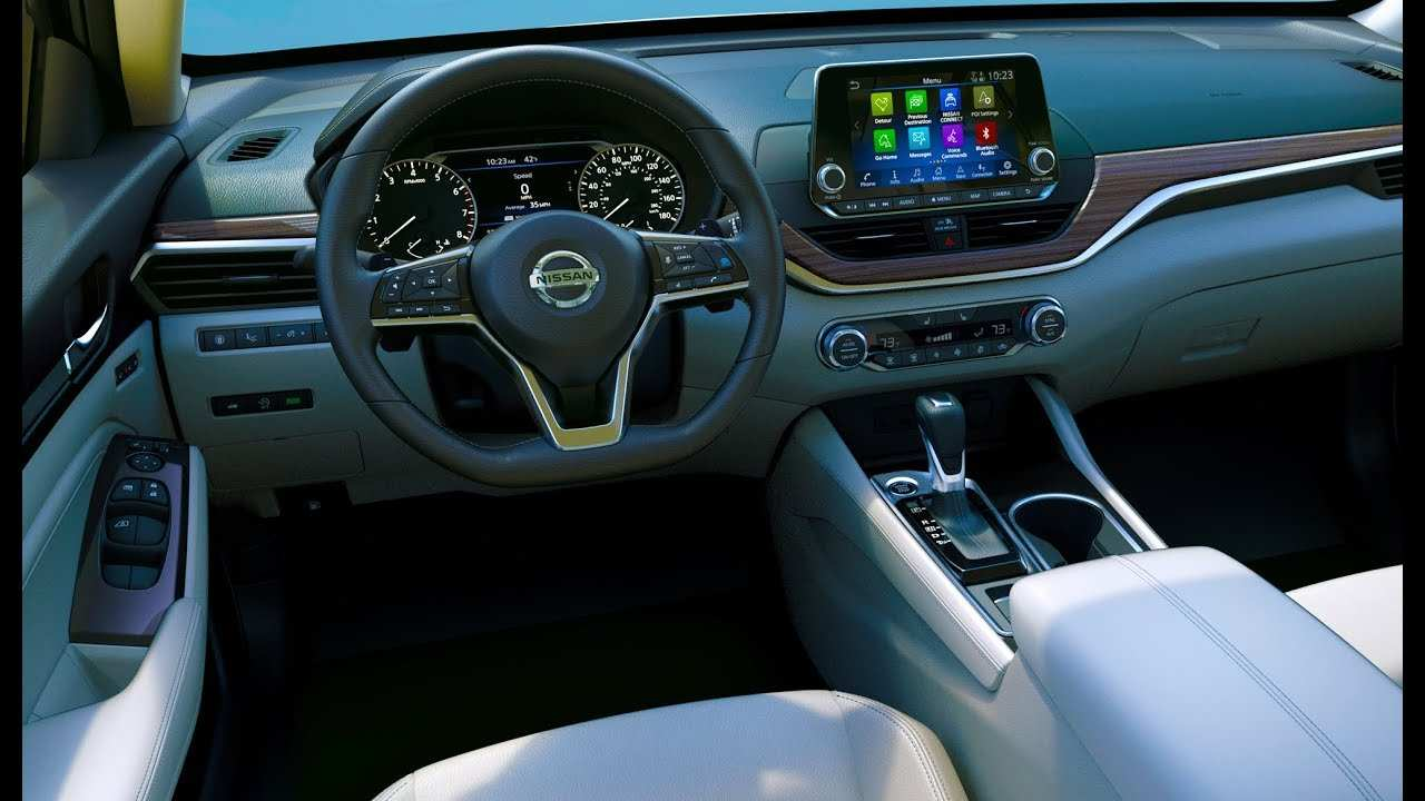 84 New 2019 Nissan Altima Interior Price and Review for 2019 Nissan Altima Interior