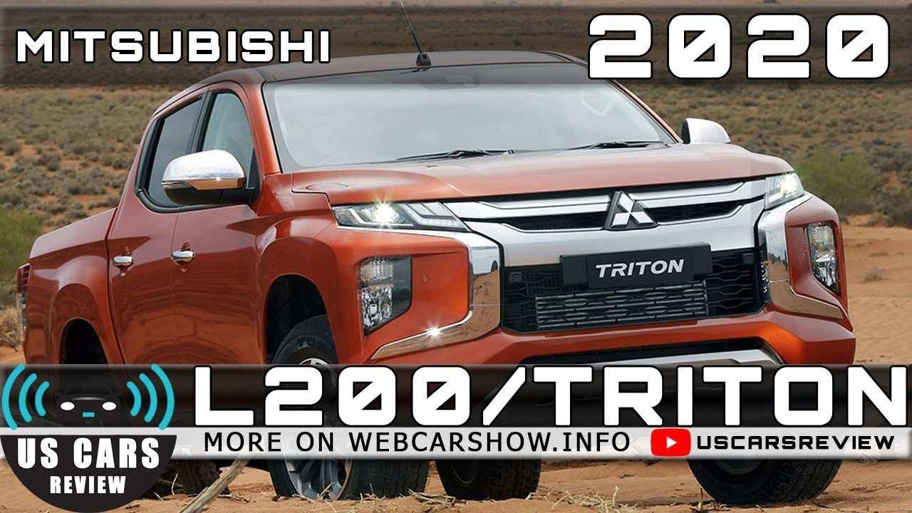 84 The 2020 Mitsubishi Triton Specs Pictures by 2020 Mitsubishi Triton Specs