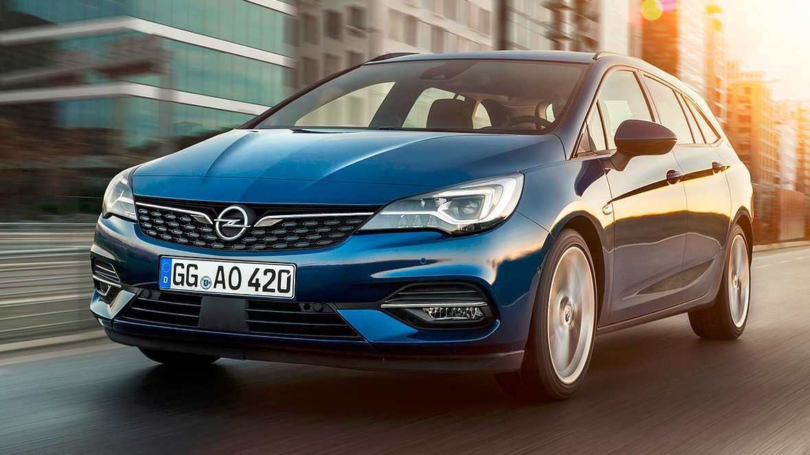 84 The Opel Astra Kombi 2020 First Drive with Opel Astra Kombi 2020