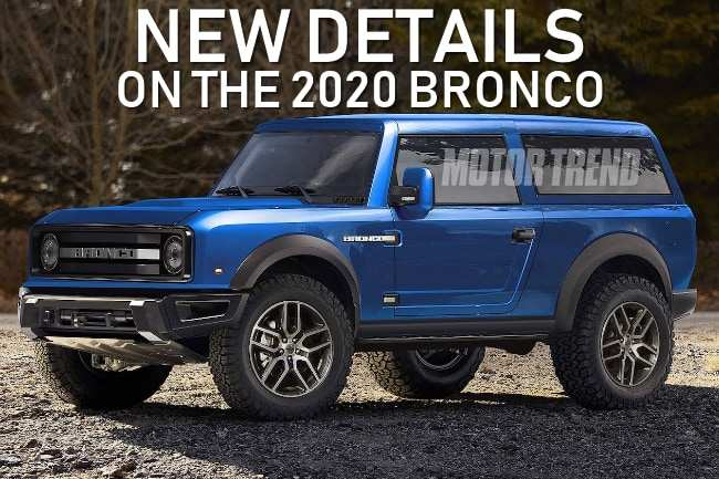 86 Great Ford S New Bronco 2020 Review by Ford S New Bronco 2020