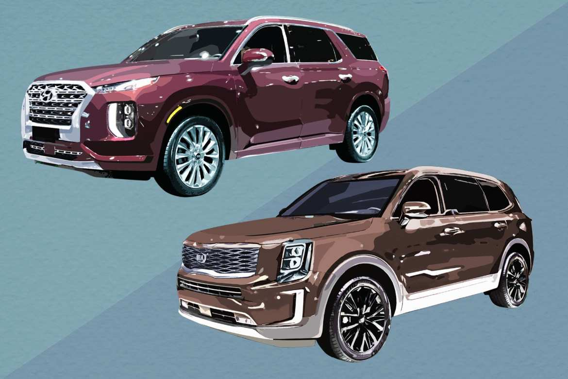 87 Gallery of 2020 Hyundai Palisade Vs Kia Telluride Performance and New Engine by 2020 Hyundai Palisade Vs Kia Telluride