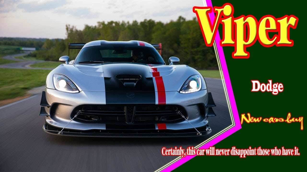87 New 2020 Dodge Viper Youtube Wallpaper by 2020 Dodge Viper Youtube