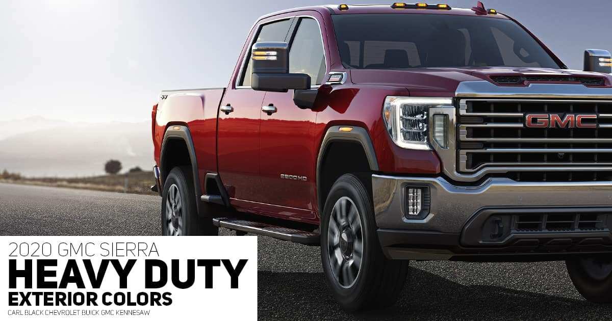 88 All New 2020 Gmc Sierra 2500 Engine Options Configurations by 2020 Gmc Sierra 2500 Engine Options
