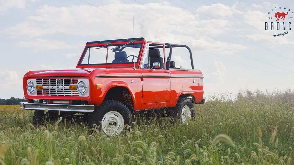 88 All New Build Your Own 2020 Ford Bronco Engine for Build Your Own 2020 Ford Bronco