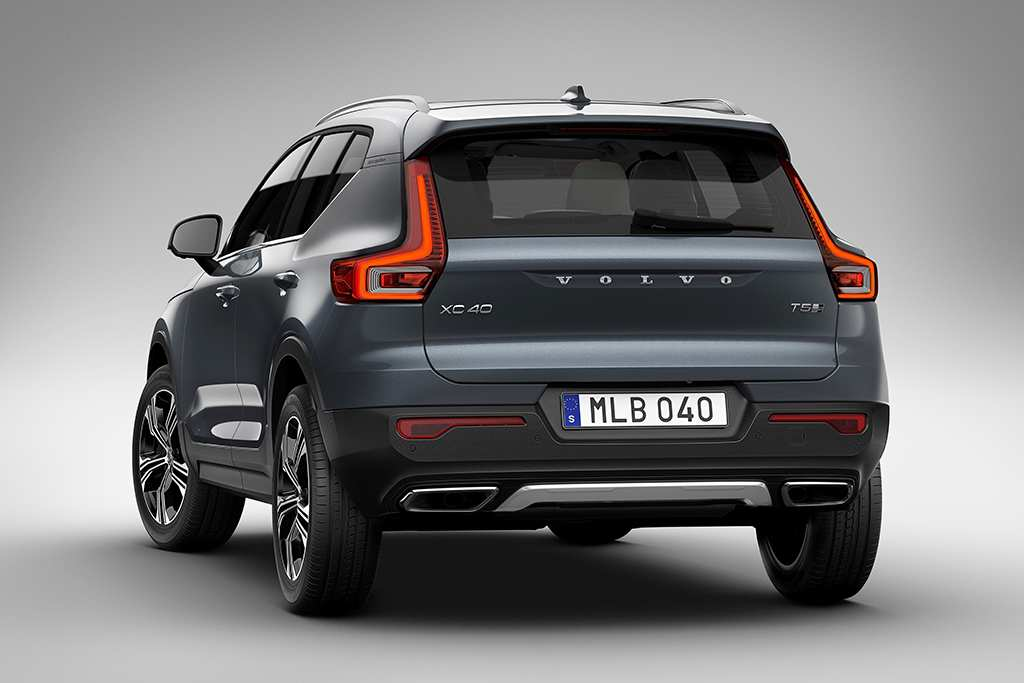 89 All New 2019 Volvo Xc40 Mpg Review with 2019 Volvo Xc40 Mpg