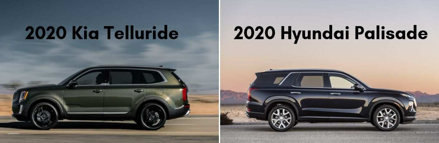 89 New 2020 Hyundai Palisade Vs Kia Telluride Exterior and Interior for 2020 Hyundai Palisade Vs Kia Telluride