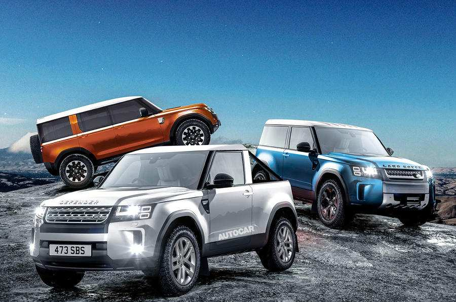 90 Concept of 2019 Land Rover Defender Images by 2019 Land Rover Defender