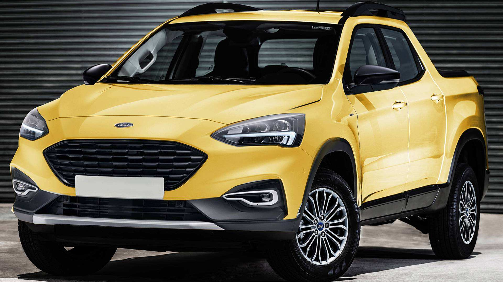 92 All New Ford Courier 2020 New Concept by Ford Courier 2020
