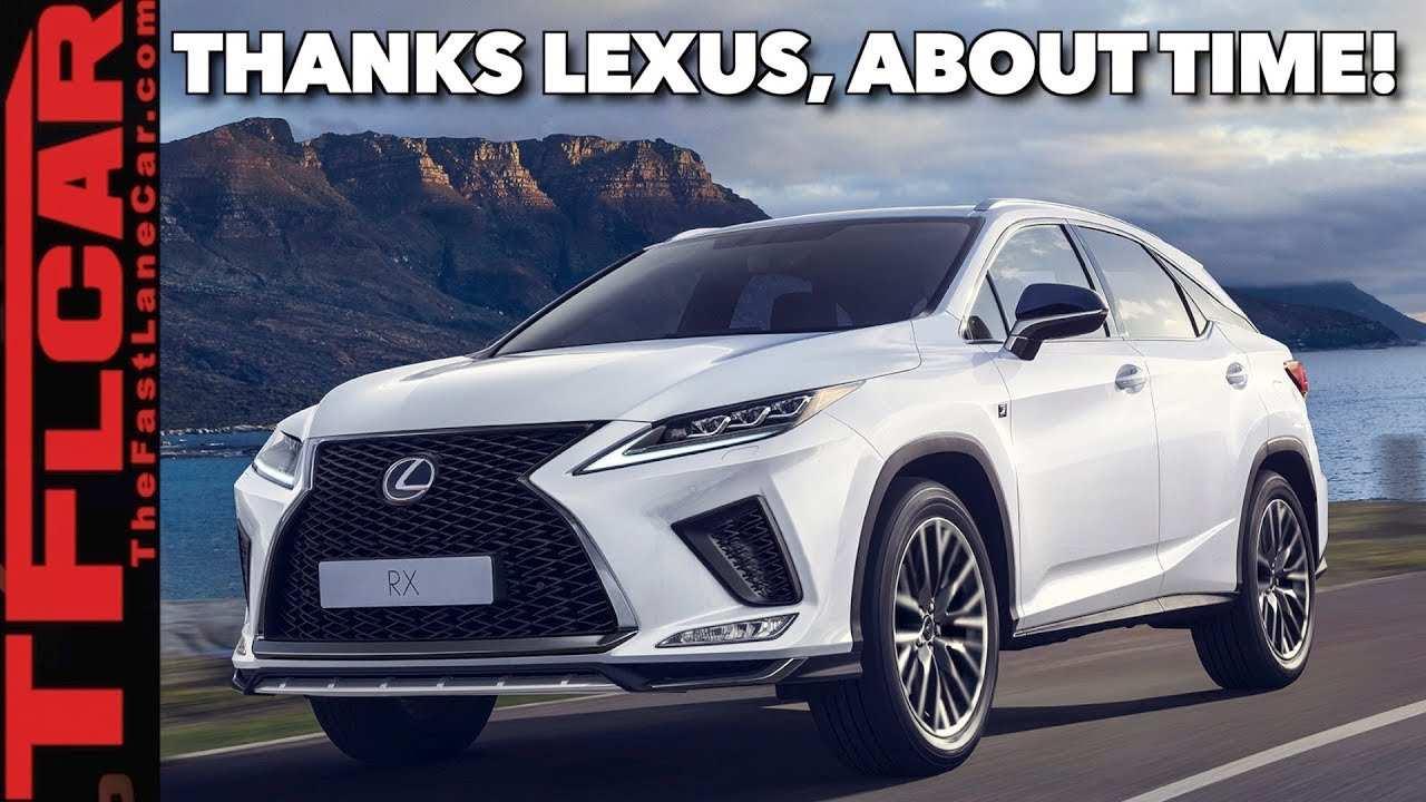 92 New Lexus Rx 2020 Concept with Lexus Rx 2020