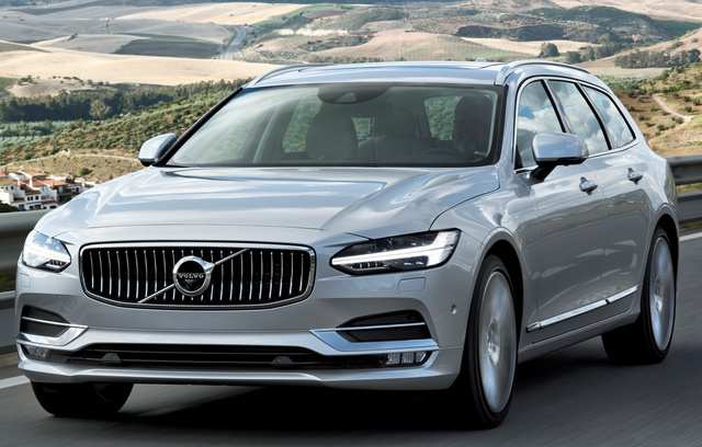 93 Concept of 2019 Volvo V90 Release Date for 2019 Volvo V90