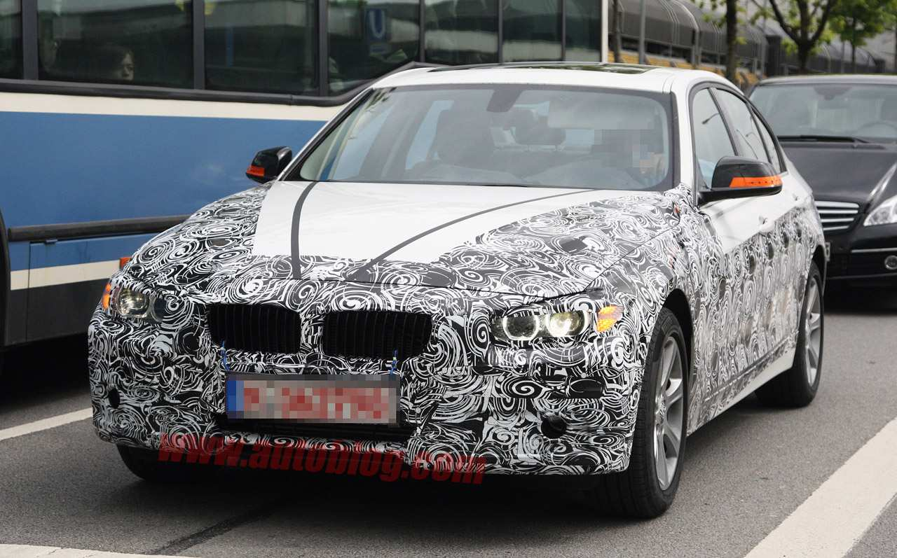 Spy Shots BMW 3 Series Redesign