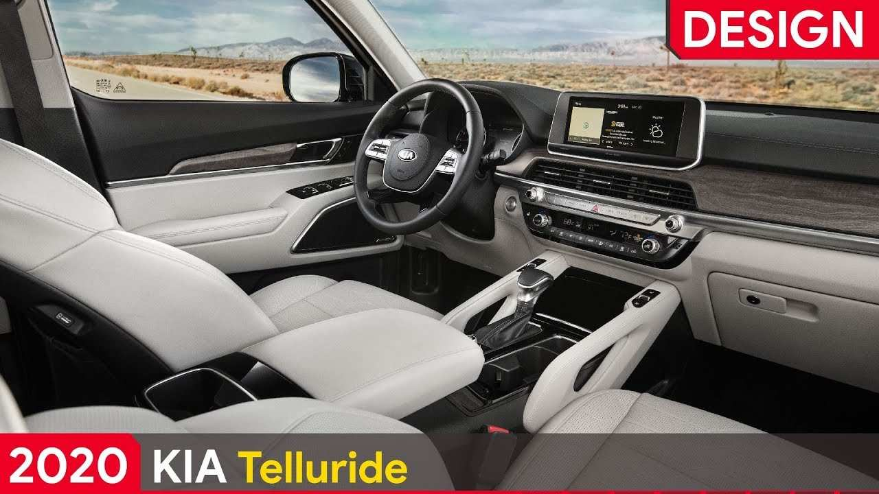 94 New Kia Telluride 2020 Interior Picture for Kia Telluride 2020 Interior