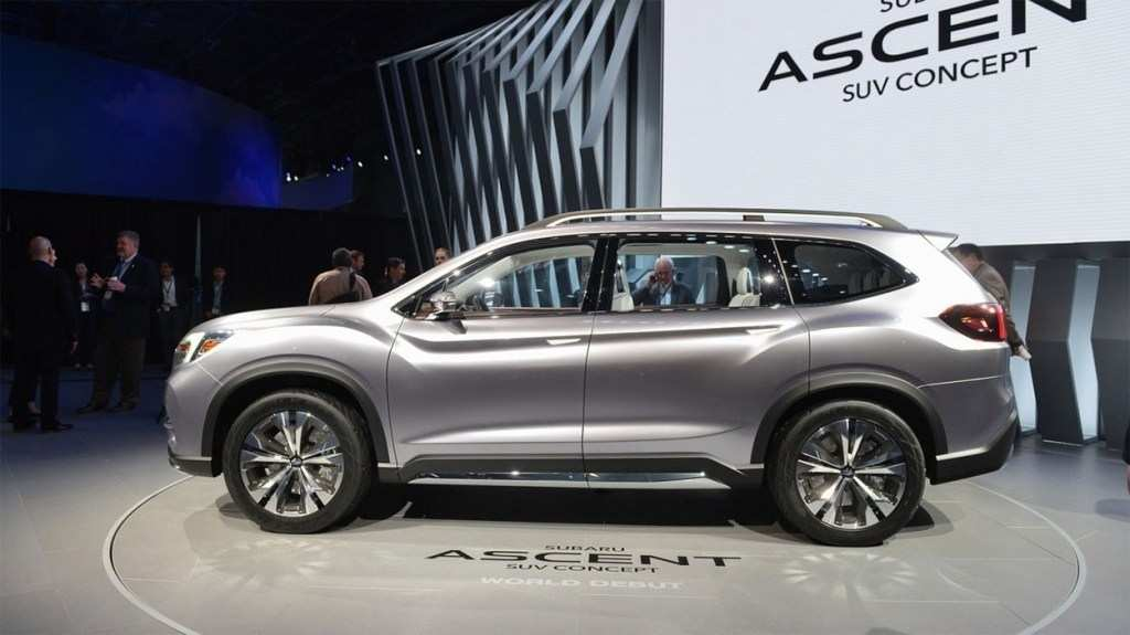95 Best Review Subaru Ascent 2020 Spy Shoot with Subaru Ascent 2020