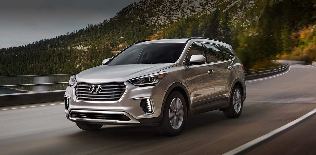 95 Gallery of 2019 Hyundai Santa Fe Interior for 2019 Hyundai Santa Fe