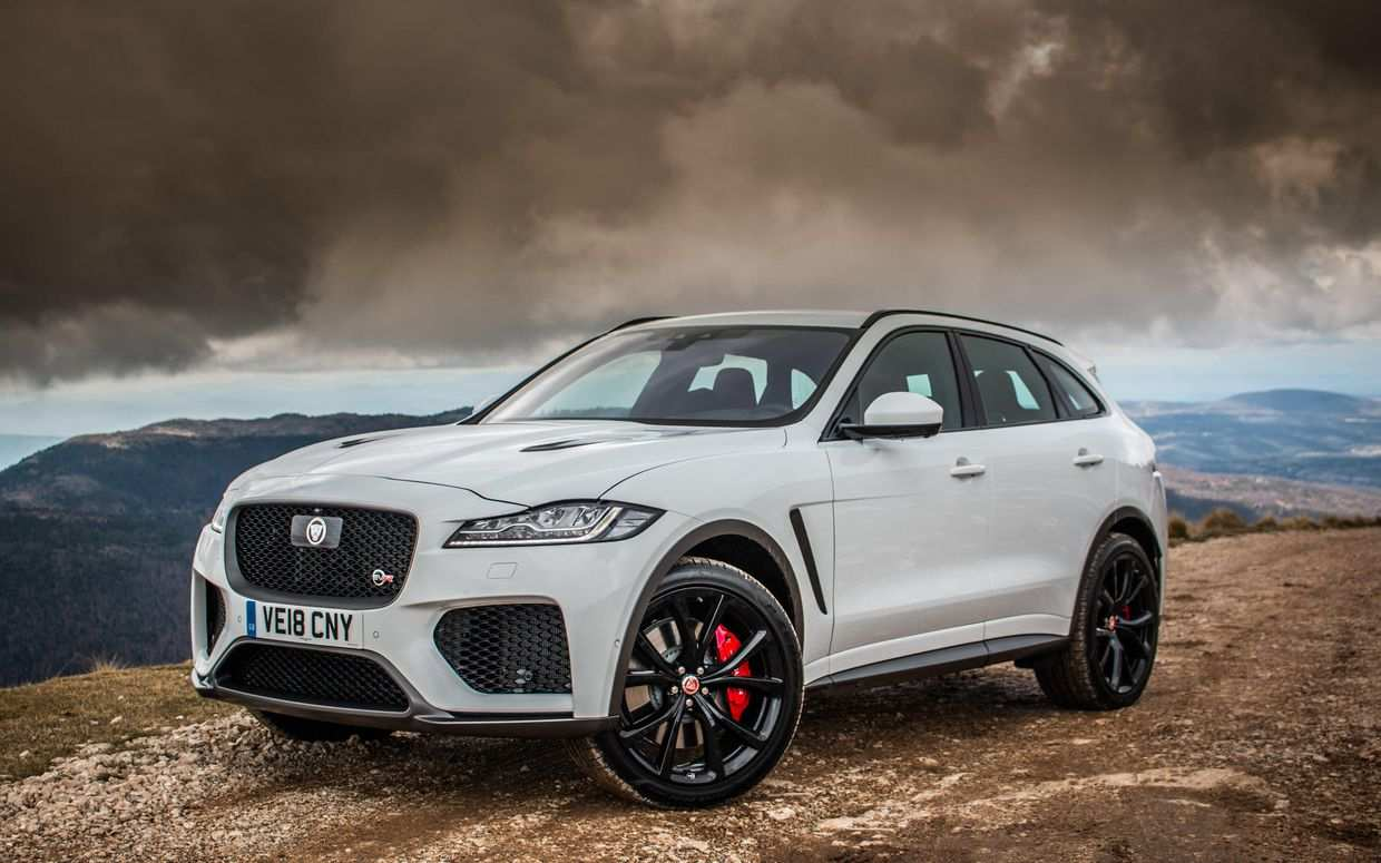 95 Gallery of New Jaguar F Pace 2020 Concept with New Jaguar F Pace 2020