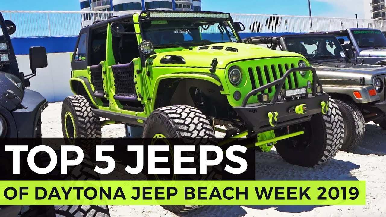 98 Great Jeep Beach Daytona 2020 Redesign and Concept with Jeep Beach Daytona 2020