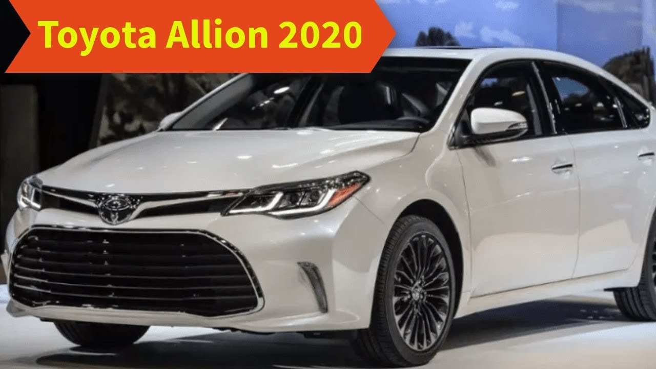 99 New Toyota Premio 2020 Price and Review for Toyota Premio 2020