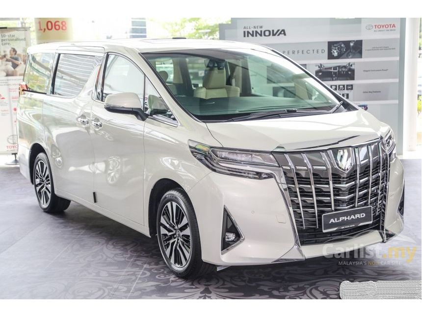23 Concept of 2019 Toyota Alphard Overview by 2019 Toyota Alphard