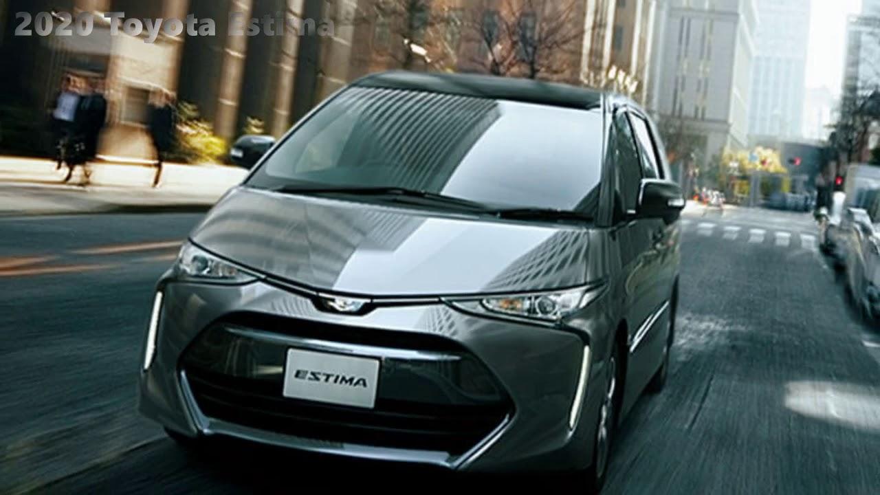 49 New Toyota Estima 2020 Images with Toyota Estima 2020