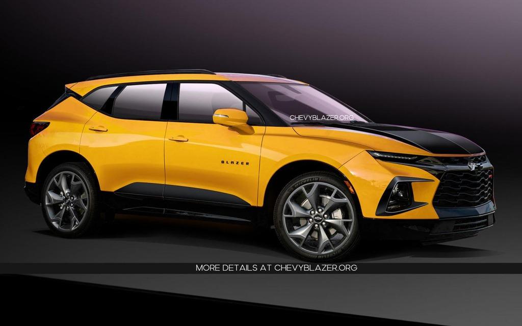 50 Concept of Chevrolet Blazer 2020 Spy Shoot for Chevrolet Blazer 2020