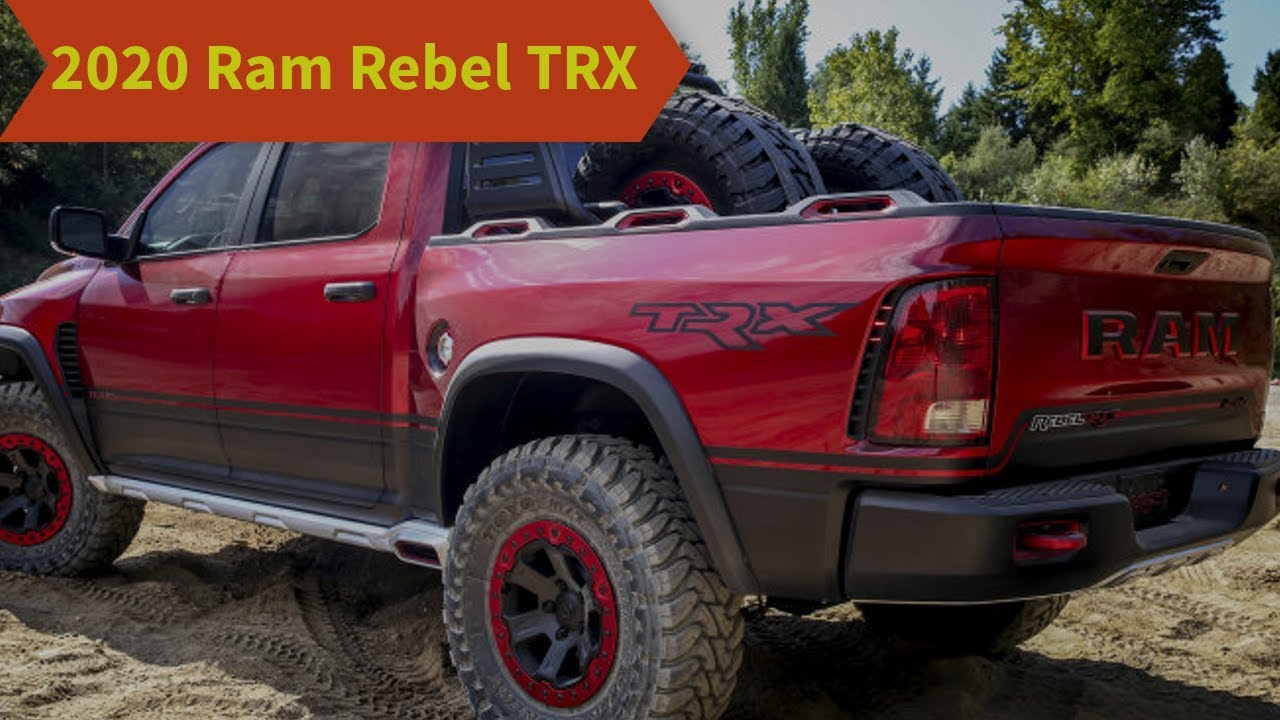 54 All New Dodge Trx 2020 Pricing by Dodge Trx 2020