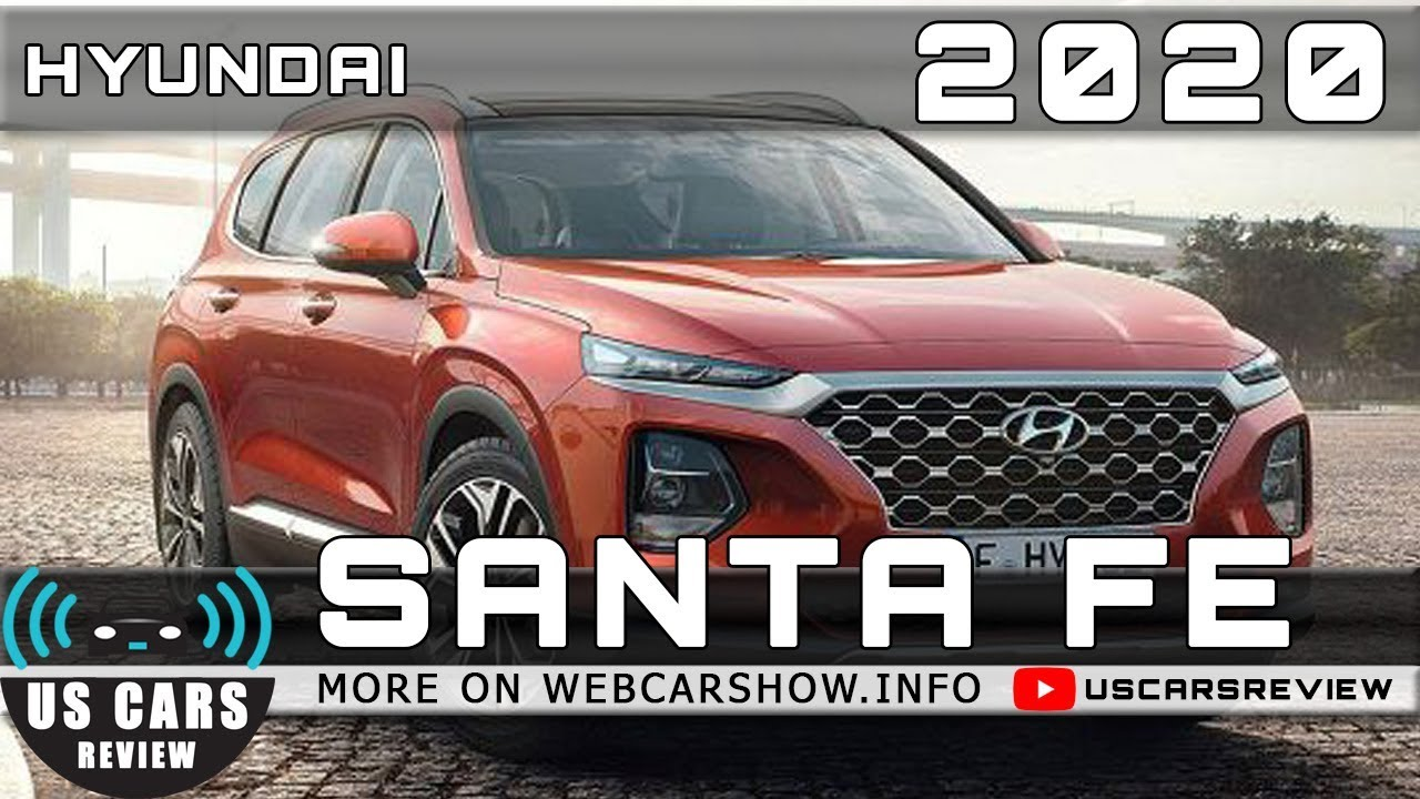 57 Great 2020 Hyundai Santa Fe Release Date Speed Test for 2020 Hyundai Santa Fe Release Date