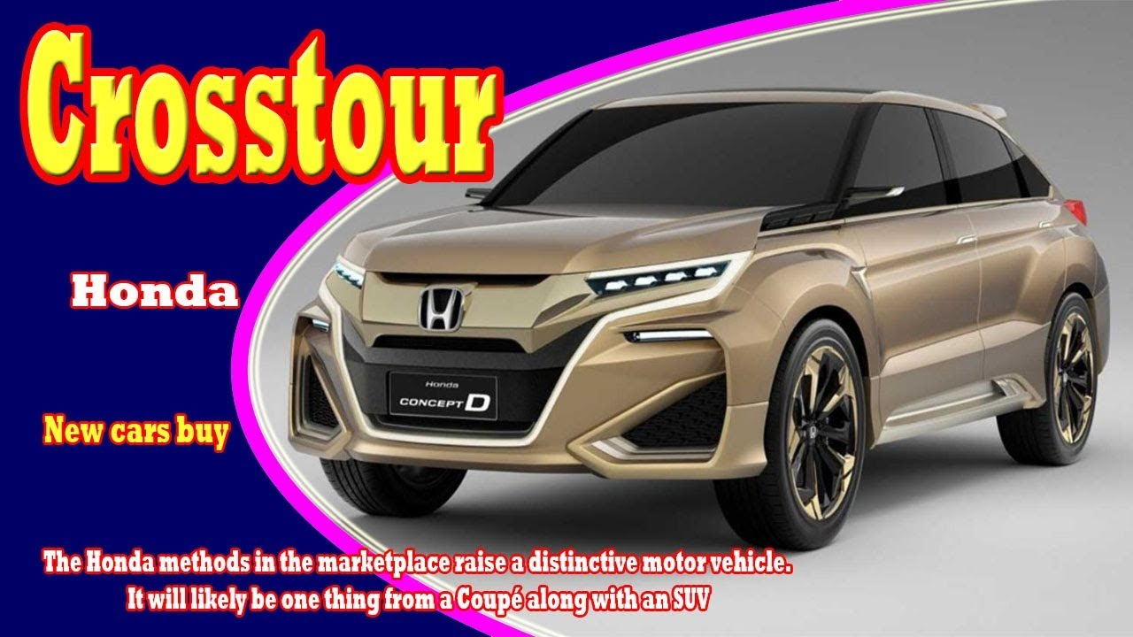 75 All New 2019 Honda Crosstour Price by 2019 Honda Crosstour