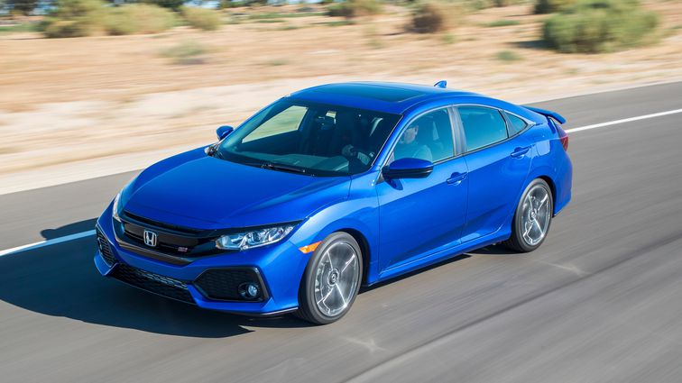 84 Gallery of 2019 Honda Civic Si Sedan Speed Test for 2019 Honda Civic Si Sedan
