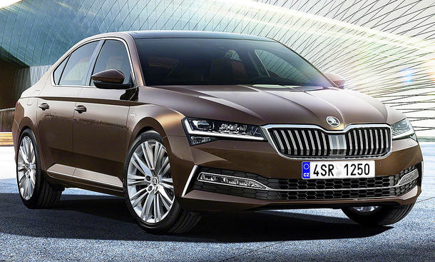 86 Great 2019 New Skoda Superb Exterior by 2019 New Skoda Superb