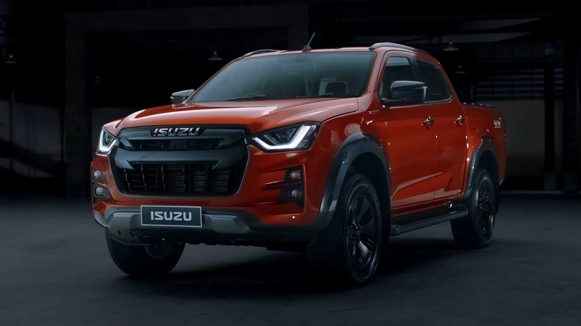 95 The 2020 Isuzu Dmax Spy Shoot by 2020 Isuzu Dmax
