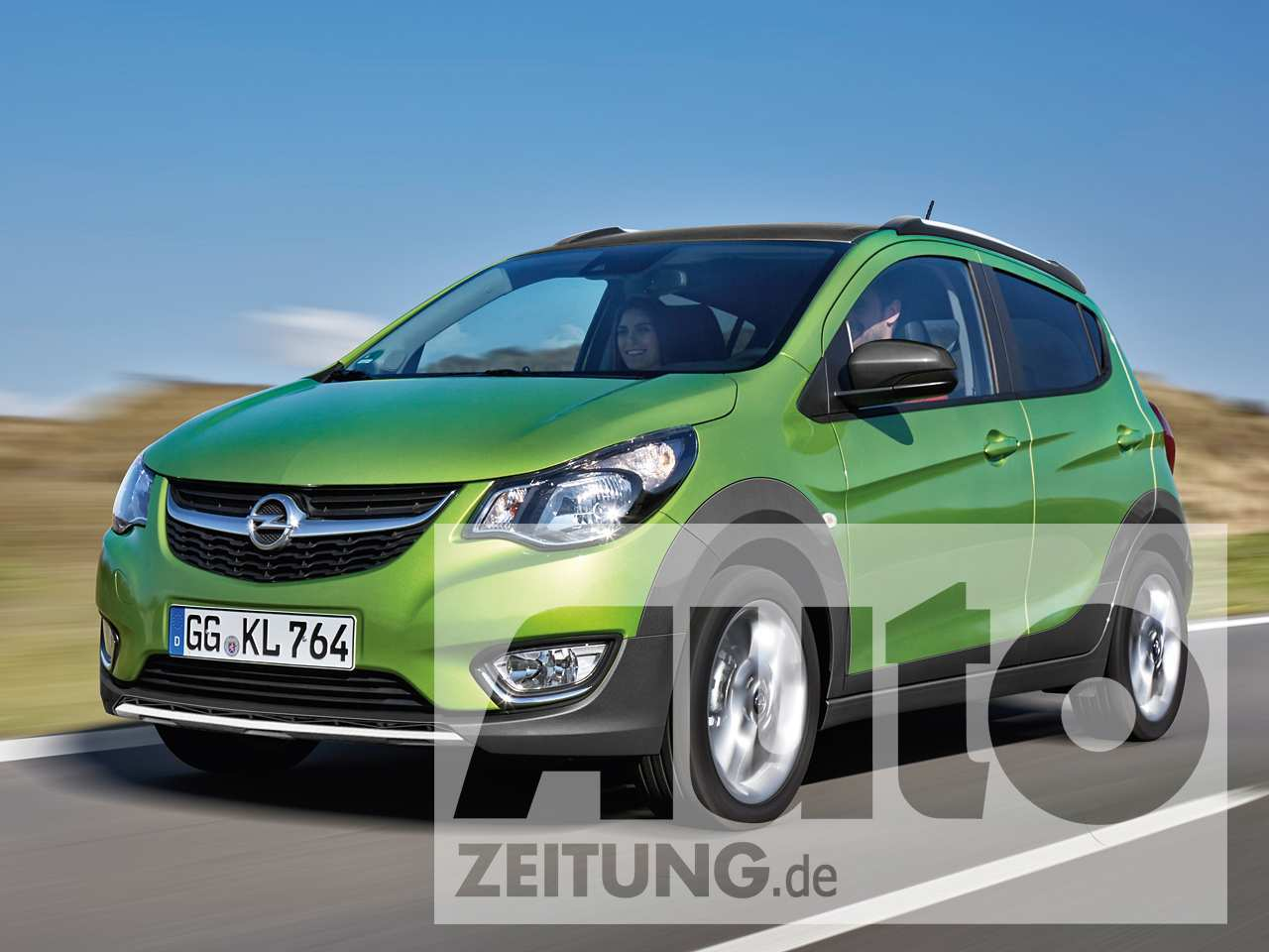 96 Concept of Nouvelle Opel Karl 2020 Interior with Nouvelle Opel Karl 2020